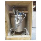 600L Stainless Steel Jacketed Vessel with Mixer.