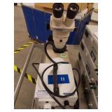 Microscope w/Lamp