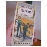 1950 Sinclair Illinois Sightseeing Guide