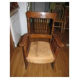 Antique Rocking Chair (no shipping, pick up only)