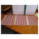 3 Sheets of Unused Elvis Stamps