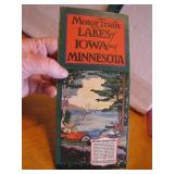 1923 Motor Trails to the Lakes of Iowa & Minnesota