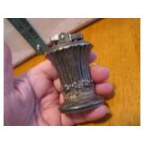 "Vintage Ronson New Port Silver Plated 3"" Lighter"