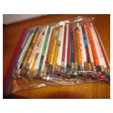 Lot of Advertising Wood Pencils