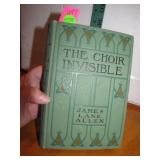 1897 The Choir Invisible Book