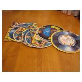 9 Vintage Cereal Box Cut Out Records Archies,