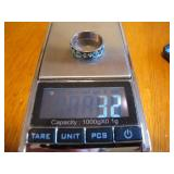 Signed JCNF 925 Size 8&1/2 Sterling Silver Ring