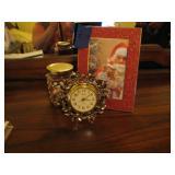 Vintage Linden Alarm Clock + MISC SHOWN