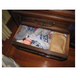 Everything in Bottom LEFT Drawer of dresser