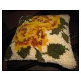 Latch Hook Pillow