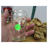 """8 Vintage Coca-Cola Soda Fountain Glasses 4"""""""