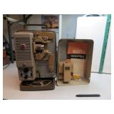 Vtg Kodak Showtime 8mm Movie Projector & Screen