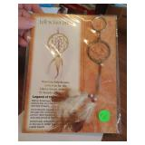 Dream Catcher Keychain (new on card)
