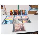 10 CDs Olivia Newton John, BeeGees, Michael Bolton