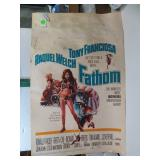 1967 Raquel Welch Original Movie Poster Fathom