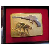 Vintage Thompson/Center Arms Belt Buckle