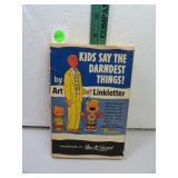 Vintage 1957 Kids Say the Darndest Things by