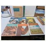 1956 Walt Disney True Life Adventures (6 Book Set)