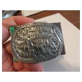 1994Youth Hesston National Finals Rodeo BeltBuckle