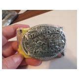 1998Youth Hesston National Finals Rodeo BeltBuckle