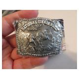 1996Youth Hesston National Finals Rodeo BeltBuckle