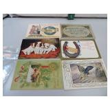 6 Antique Post Cards (1910 era)