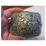 1986Adult Hesston National Finals Rodeo BeltBuckle