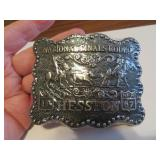 1987Adult Hesston National Finals Rodeo BeltBuckle