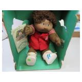 Vintage Black Cabbage Patch Kid Doll with Birth