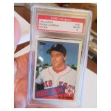 1985 Topps Roger Clemens Graded Collectors Card