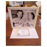 Whitey Ford & Yogi Berra Signed 8 x 10