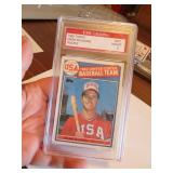 1985 Topps Mark Mcqwire Graded Card