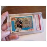 2003 Topps Drew Brees Graded Card