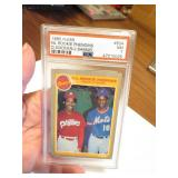 D. Gooden / J. Samuel Graded Collectors Card