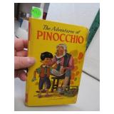 Vintage 1967 The Adventures of Pinocchio Hard