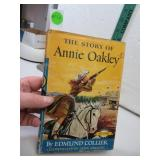 Vintage 1956 The Story of Annie Oakley Hard