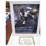 Whitey Ford Signed Framed 8 x 10 Photo