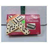 Double Nine Jumbo Dominoes 55 Catalin Dominoes &