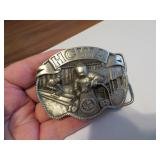 1983 HCWA Hesston Welder Belt Buckle