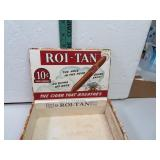 Vintage Roi-Tan Cigar Box