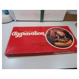 Vtg 1977 Deluxe Aggravation Game Complete