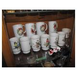 All on 2nd Shelf Royal Crown Cardinals Cups & more