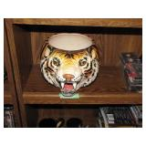 "Tiger Pot Made in Italy 12"" x 9"" x 7"""