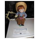 Danbury Mint Little Cowboy 1996 12""