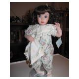 Porcelain Doll Jan Goodyear 14&1/2""