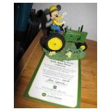 Mickey Mouse Hamilton Collection John Deere 4""