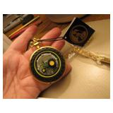 Franklin Mint John Deere 830 Diesel Pocket Watch