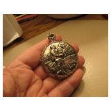 Lucerne Fisherman Pocket Watch missing fob ring