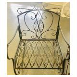 Out door metal brand new rocking chair