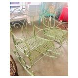 Out door Porch Metal Brand new Rocking chairs